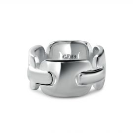 Bague Argent 925 maille rectangle