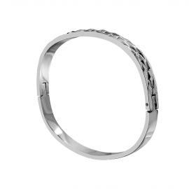 Double-sided bangle bracelet