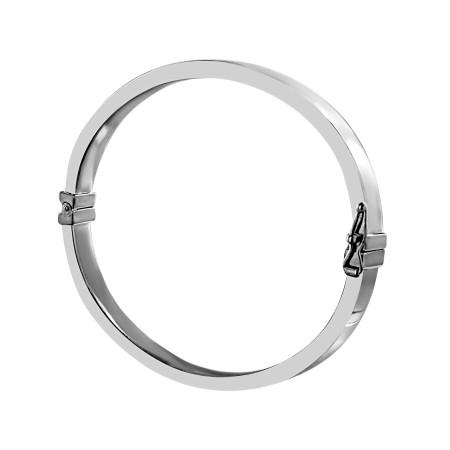Bracelet rigide Argent 925 ovale