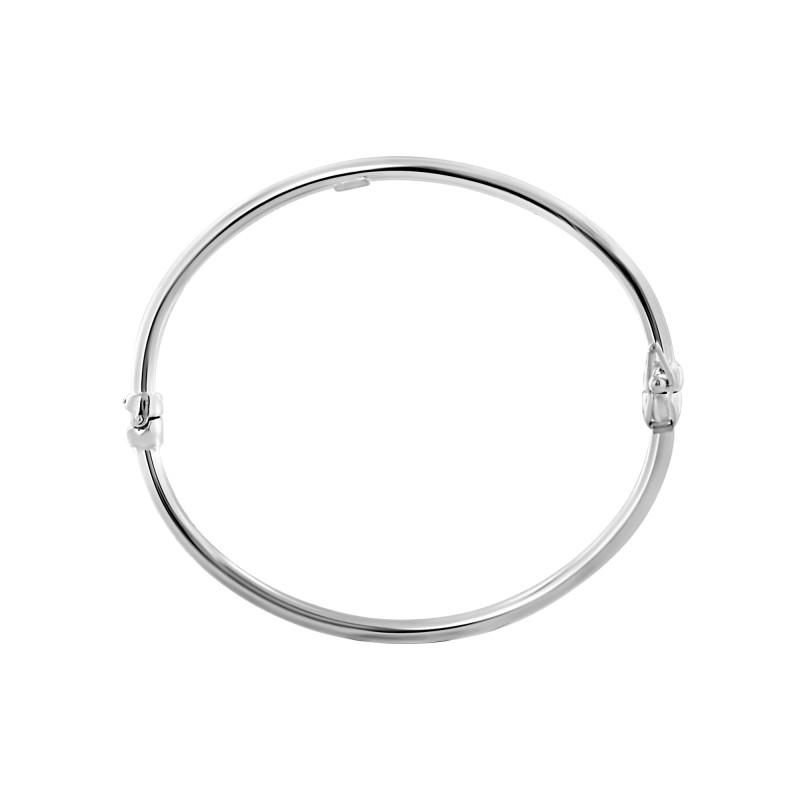 Bracelet rigide ovale