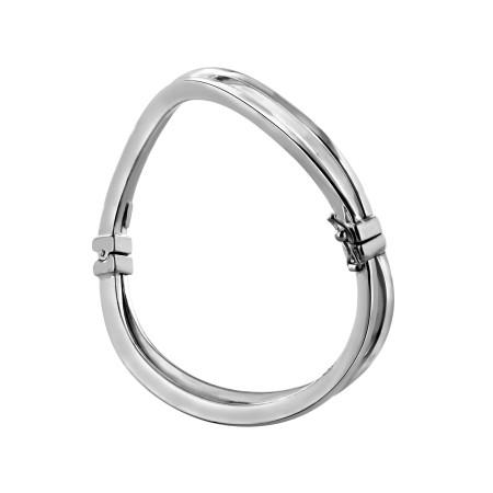 Bracelet rigide vague duo