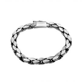 Bracelet maille haricot