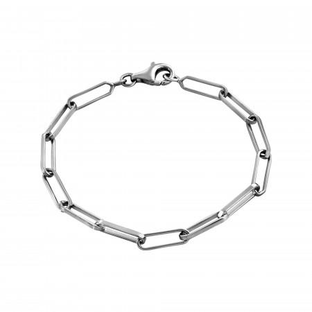Bracelet maille rectangle M