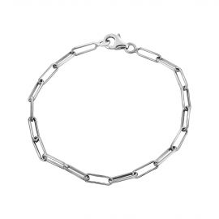S rectangle link bracelet