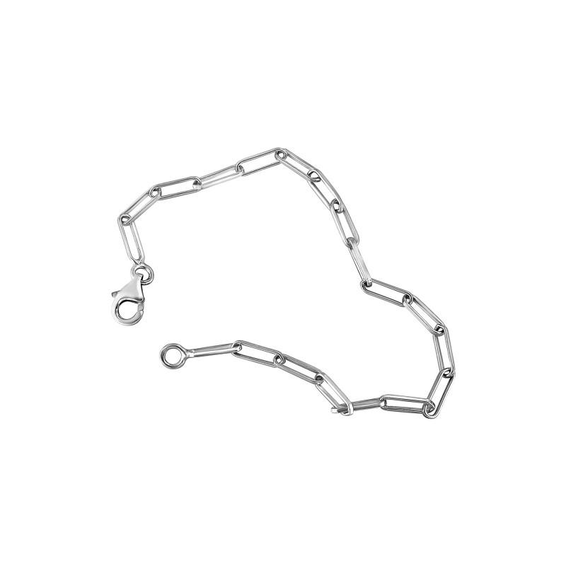 Bracelet maille rectangle S