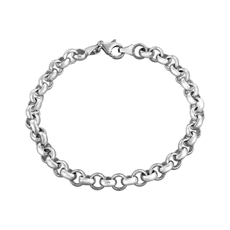 Bracelet maille jaseron S