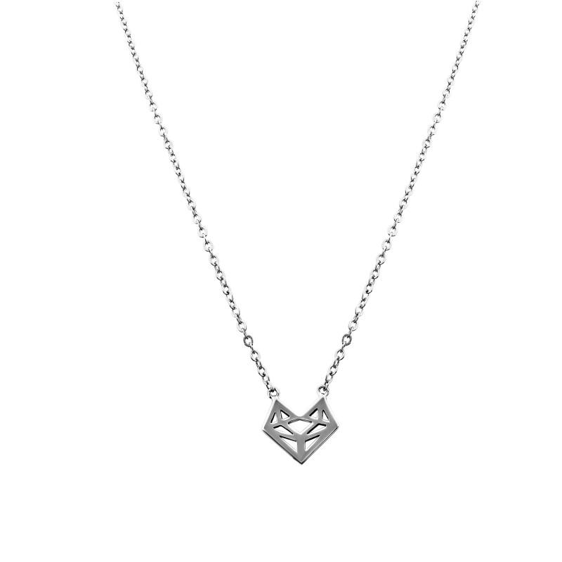 Collier motif forme géométrique