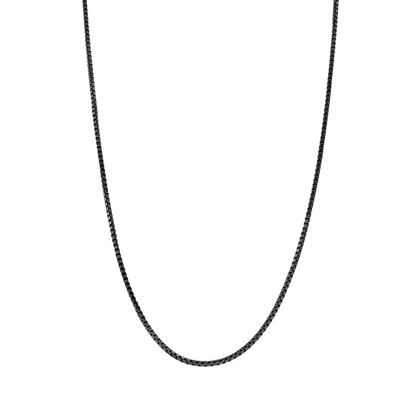 Chaîne Argent 925 vénitienne ruthénium