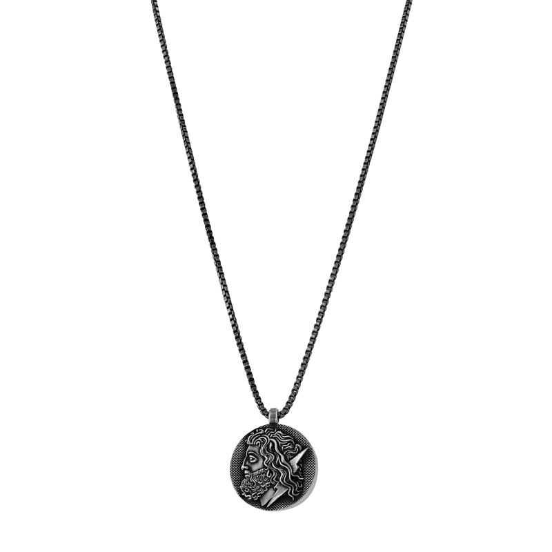 "Sterling silver ""ZEUS"" pendant"