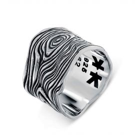 "Bague Homme Argent 925 ""Boys in the hoods"""