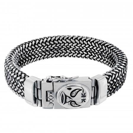 Bracelet Homme Argent 925 Macho libre