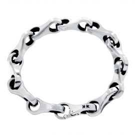 Sterling silver 8 inverted bracelet