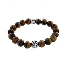 """Beads boys"" tiger eye stone bracelet"