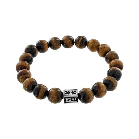 "Bracelet ""Beads Boys"" oeil de tigre"