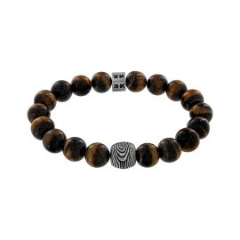 "Bracelet ""Beads Boys"" oeil de tigre Boys in the woods"