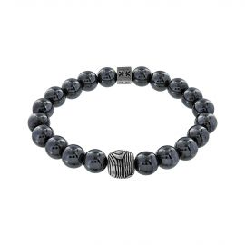 """Beads boys"" hematite stone boys in the woods bracelet"
