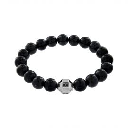 """Beads boys"" onyx stone bracelet"