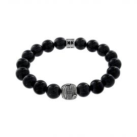 """Beads boys"" onyx stone Boys in the woods bracelet"