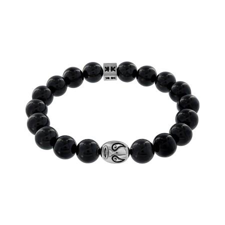"Bracelet ""Beads boys"" onyx Macho libre"