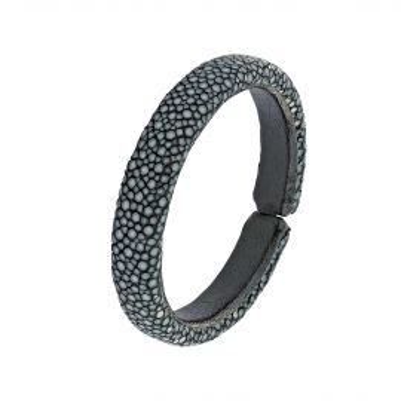 Bracelet galuchat noir 10