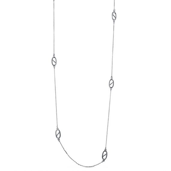 S Link long necklace