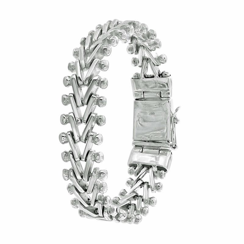Bracelet maille V