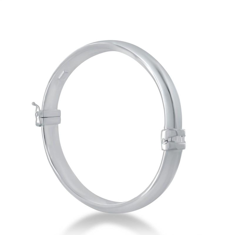 Half rush bangle bracelet