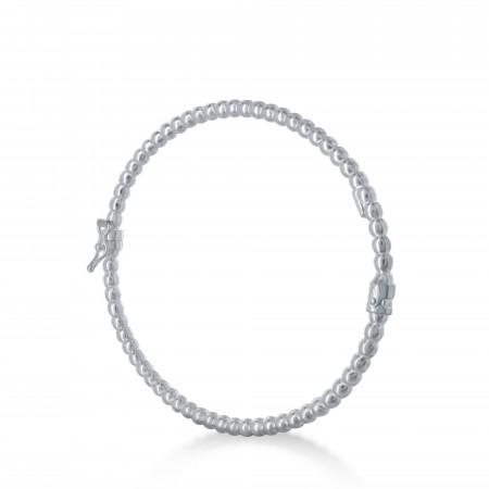 Bracelet rigide perlé 3 millimètres
