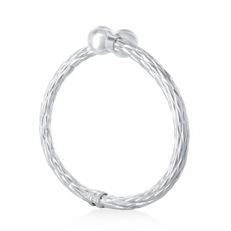 Palm tree bangle bracelet