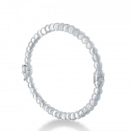 Bracelet rigide perlé 5 millimètres