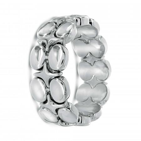 Bracelet élastique motif ovale