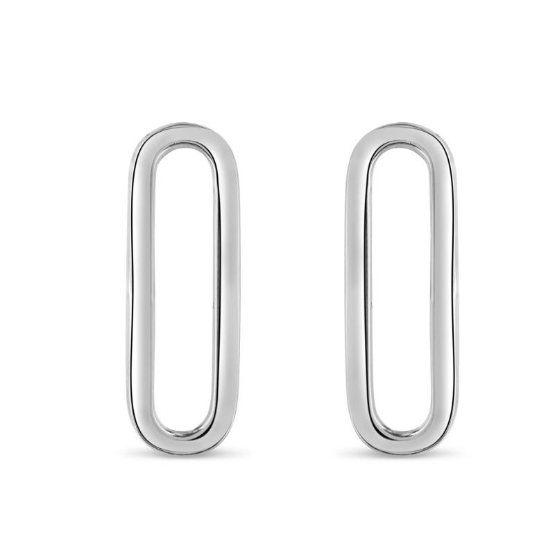 Boucles d'oreilles maille rectangle